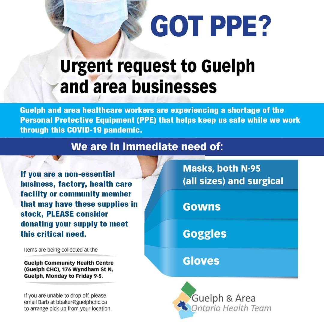 Got PPE?